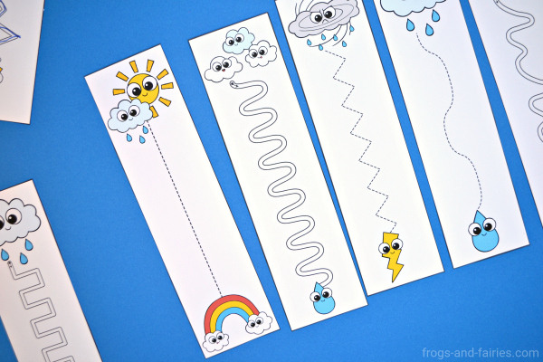 Weather Pre Writing Cards