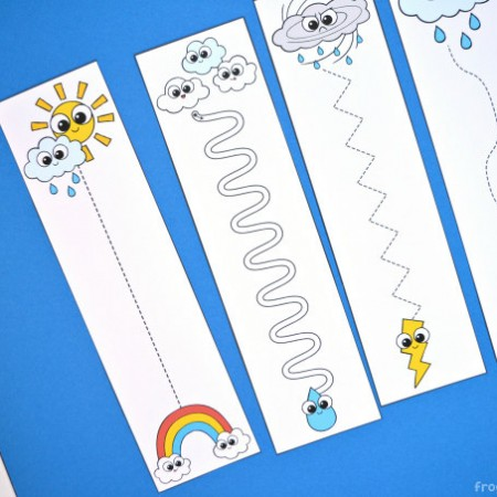 Weather Pre-Writing Cards