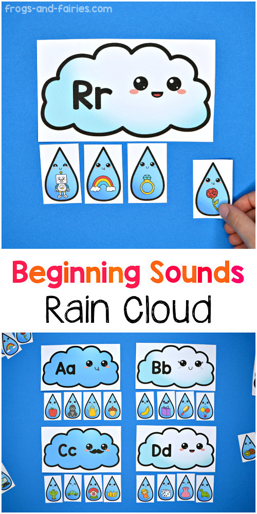 Rain Cloud Beginning Sounds Match