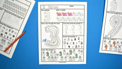 Photo of Number Worksheets 1-20