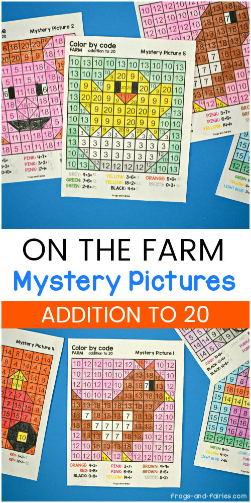 Farm Mystery Pictures - Addition to 20