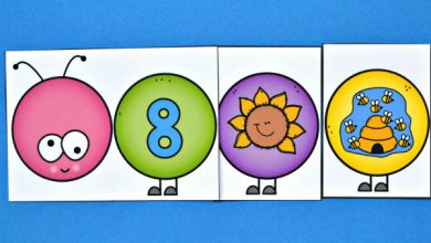 Photo of Build a Caterpillar Number Match