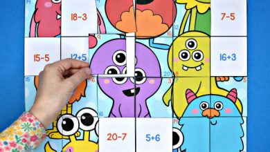 Photo of Monster Addition & Subtraction to 20 Mega Puzzle