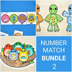 Number Match Bundle 2