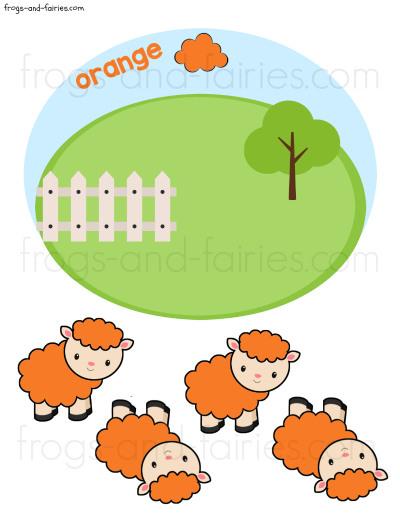 Sheep Color Match