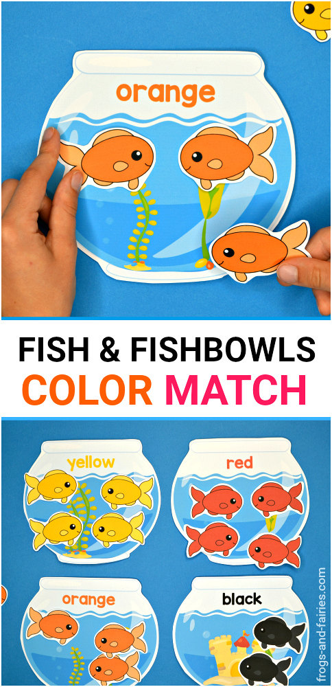Fish and Fishbowls Color Match