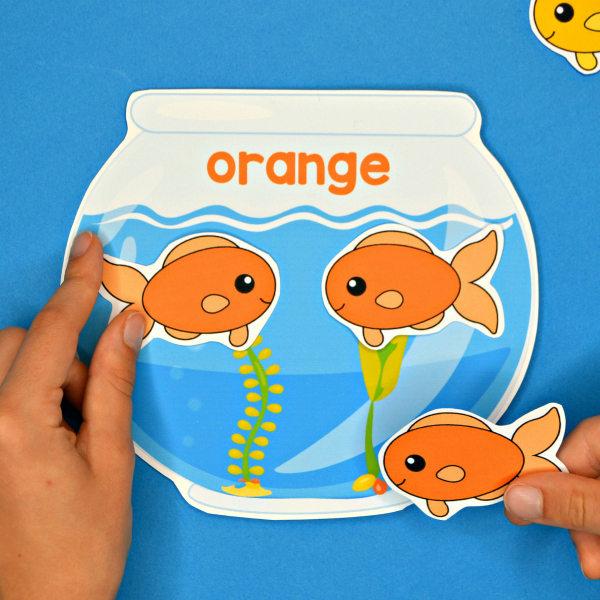 Fish & Fishbowls Color Match