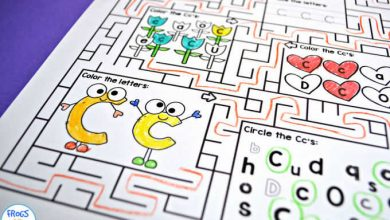 Photo of Alphabet Maze Worksheets A-Z