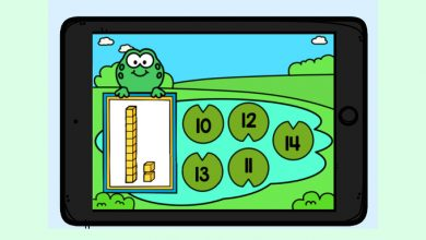 Photo of Boom Cards – Frog Base Ten Teen Numbers